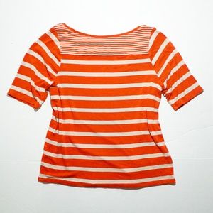 Lane Bryant Nautical Striped Shirt 14/16
